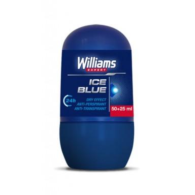 Williams Ice Blue Desodorante rollon 50+25 ml.