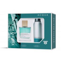 Titto Bluni Aqua edt 75 vapo + desodorante spray 200 ml