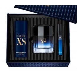 Pure XS de Paco Rabanne edt 100 vapo + desodorante + mini