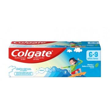 Colgate 50 ml. infantil 6-9 años sabor menta