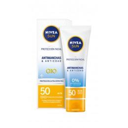 nivea sun crema antiedad antimanchas SPF 50 50 ml.