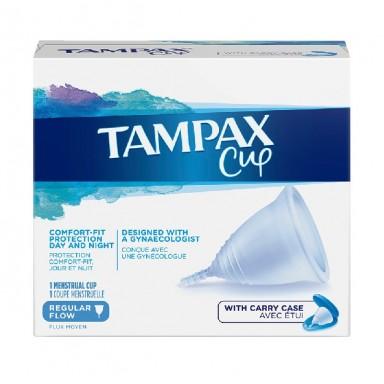 Tampax cup flujo regular