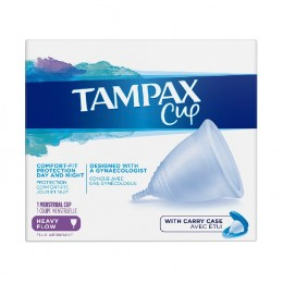 Tampax cup flujo abundante