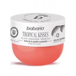 babaria solar gelatina tropical kisses fruta pasion y guayaba spf-0 300 ml.