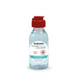 Babaria gel manos higienizante 100ml 70% alcohol