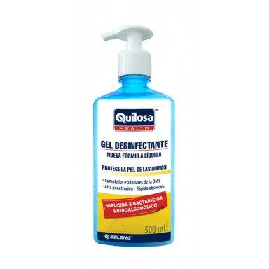 Quilosa gel hgienizante virucida 500 ml con dosificador