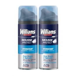 Williams espuma afeitado hidratante 2 x 200 ml