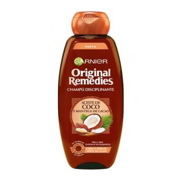 Garnier Orignian Remedies champu 300 ml coco y cacao