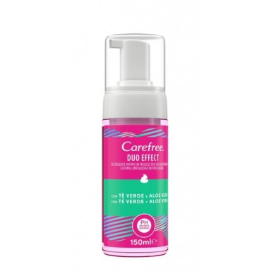 Carefree gel íntimo en espuma 150 ml.