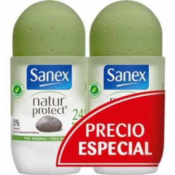 Sanex Natur Protect Bambu Desodorante Roll-On 50 ml Duplo