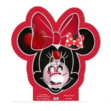Minnie set (edt 50ml + llave corazon + accesorio movil)
