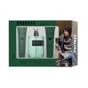 Privata Man Vetiver & Pachuli edt 75 ml vapo + gel 75 ml + after shave 75 ml