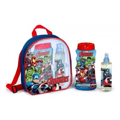 Avengers mochila (edt 200 ml + gel 475 ml)