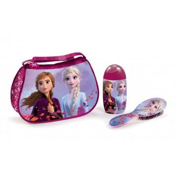 Frozen II neceser gel /champú 120 ml + cepillo cabello