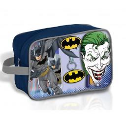 Batman neceser baño edt 90 ml + gel figura 300 ml + llavero