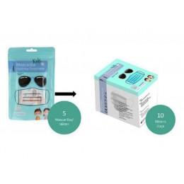 Mascarilla Higienica Infantil caja 50 uds