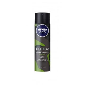 Nivea For Men Deep Amazonia Desodorante Spray 150 ml.