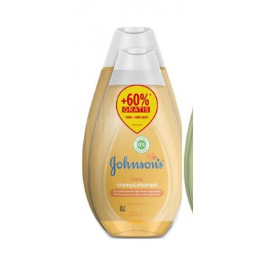 johnsons champu camomila 500 ml.+ champú 300 ml clasico