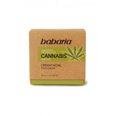 Babaria Cannabis crema facial 50 ml aceite de cannabis