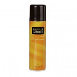 Royal Ambree Desodorante Spray 250 ml.