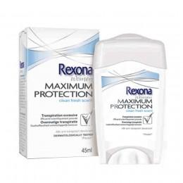 Rexona Maximum Protection Clean Fresh Desodorante Crema 45 ml.