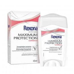 Rexona Maximum Protection Clean Confidence Desodorante Crema 45 ml.