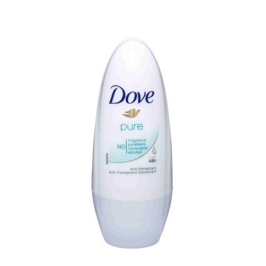 Dove Pure Desodorante Roll-On 50 ml.