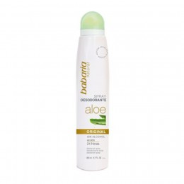 Babaria Aloe Vera Desodorante Spray 200 ml.