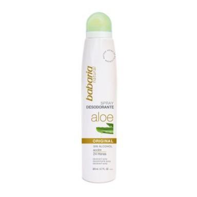 Babaria Aloe Vera Desodorante Spray 200 ml.