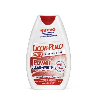 Licor del Polo 2 en 1 Dientes Blancos 75 ml.