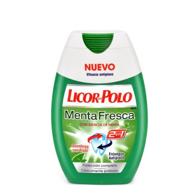 Licor del Polo 2 en 1 Menta Fresca 75 ml.